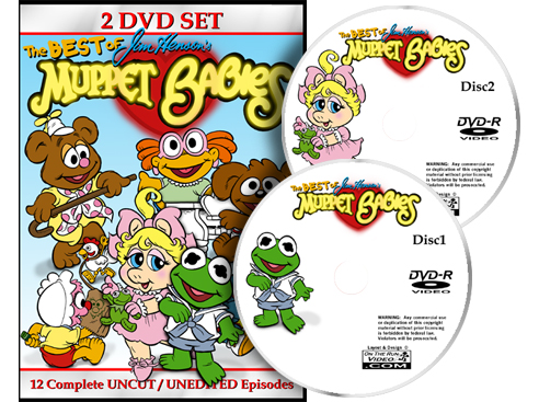 Muppet Babies Best Of Collection